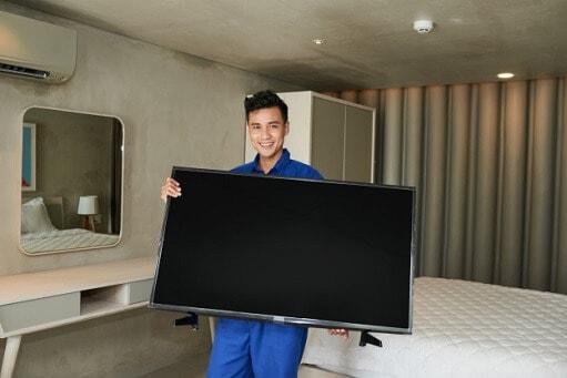 זרוע תקרה התקנת טלויזיה על תקרה